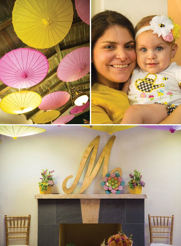 girl's first birthday party decoration ideas
