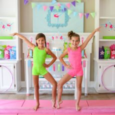 gymnastics birthday party ideas