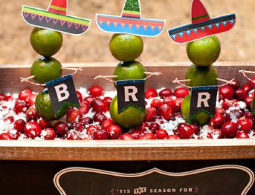 Holiday Fiesta Party Ideas {Eat, Drink, and Be Cran-Brrr-Rita!}