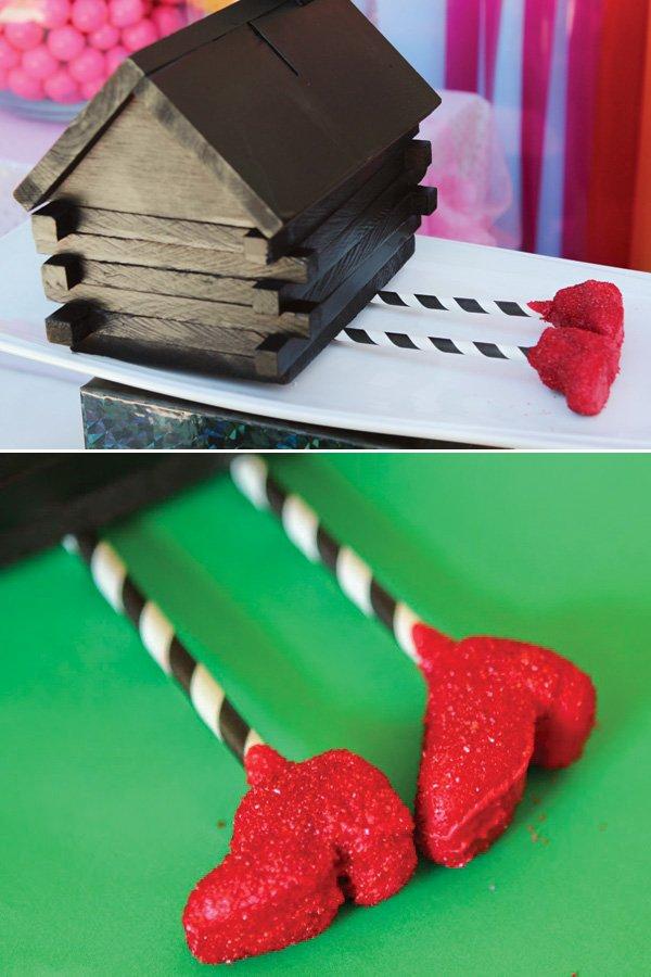 wizard of oz wuby red slipper cake pops