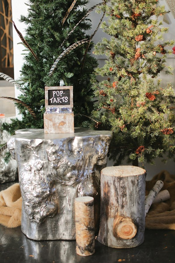 rustic woods party decorations