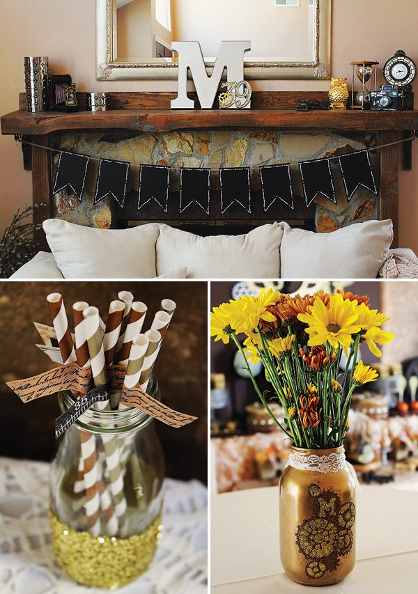 steampunk adult birthday party ideas