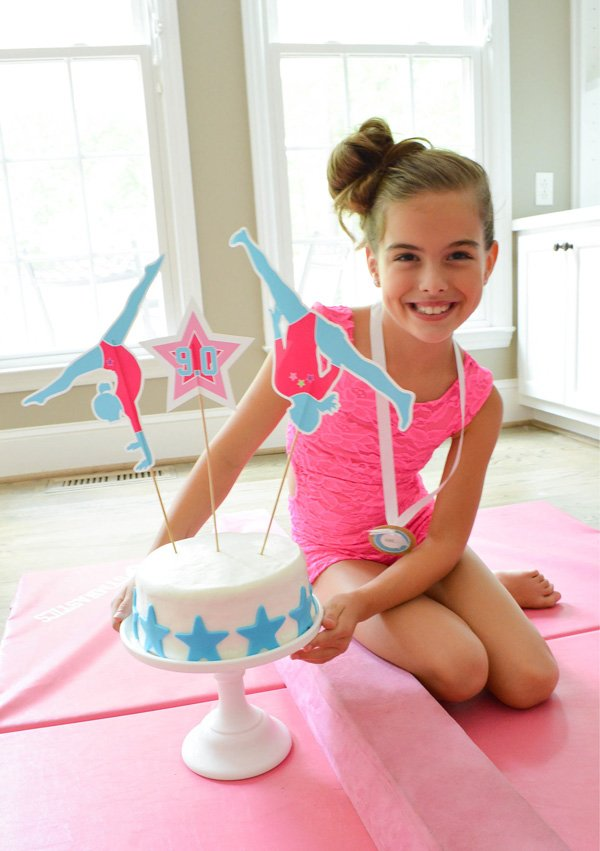A Glam Amp Girlie Gymnastics Birthday Party Hostess With