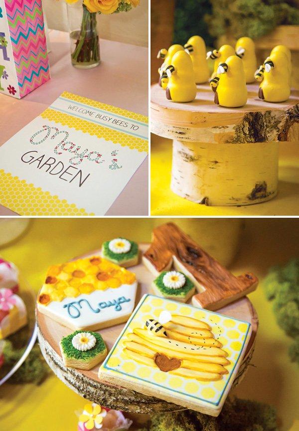woodland garden dessert ideas