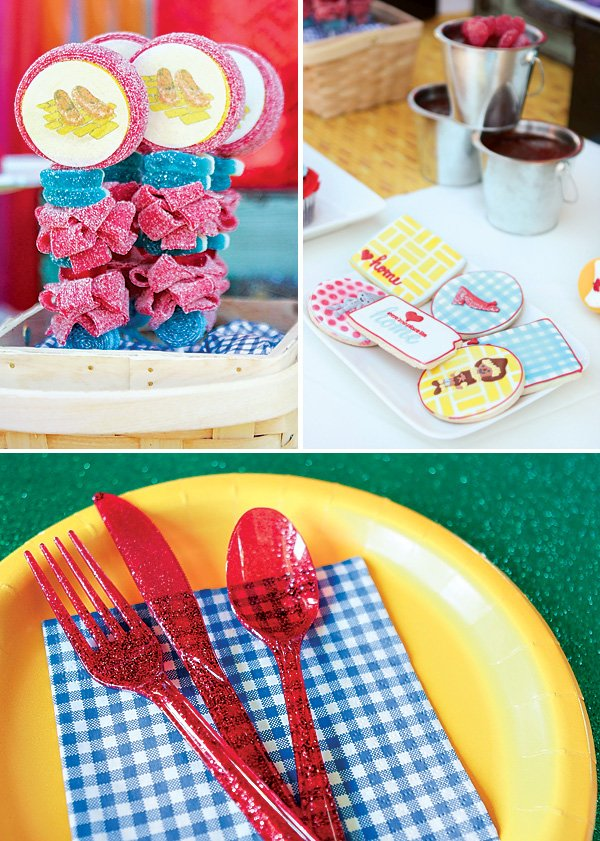 yellow brick road wizard of oz party ideas