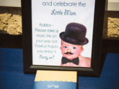 little man mustache first birthday party favors