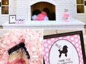 poodle skirt party neopolitan birthday cake