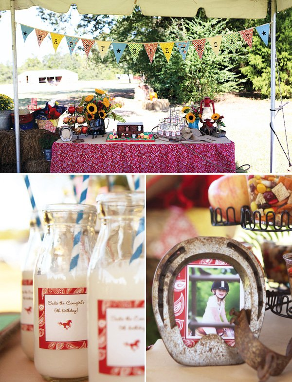 country western cowgirl birthday party ideas