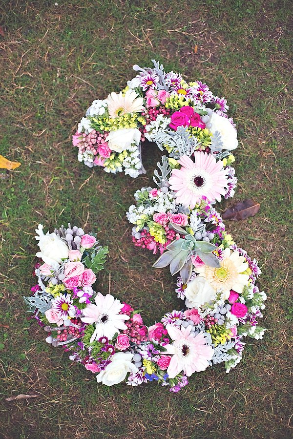 bohemian floral decoration