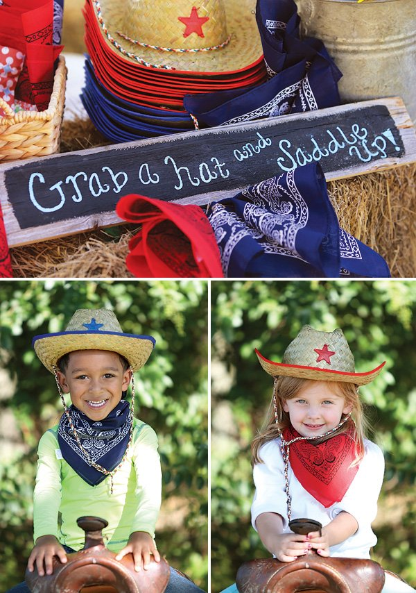 cowgirl birthday photo booth props