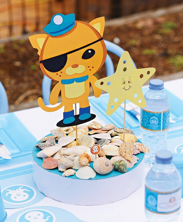 Octonauts party centerpiece