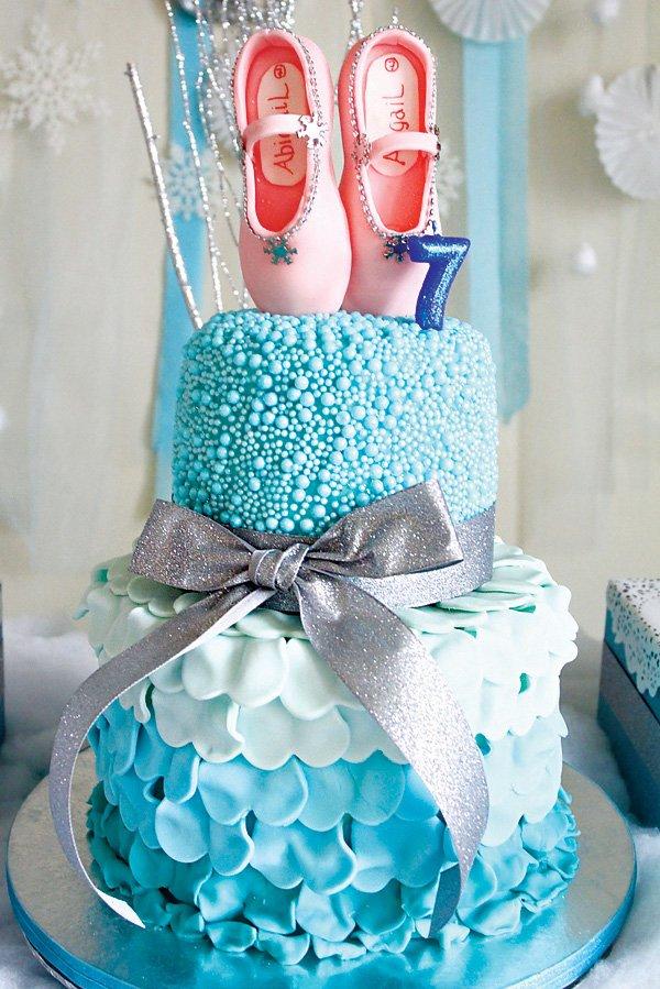 Sparkly Diy Winter Ballerina Birthday Party Hostess