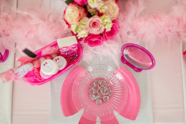 barbie party charger