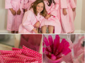 barbie spa party favors