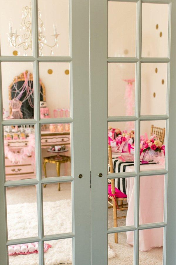 barbie spa room