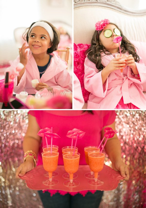 barbie spa party activities