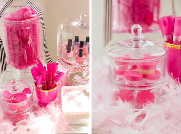 barbie nail polish station