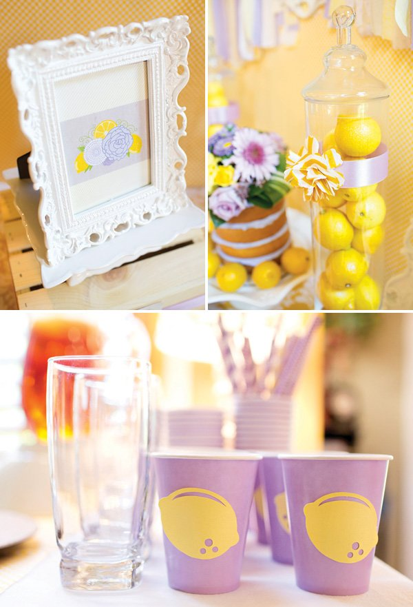 lemon and lavender party drink recipe