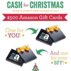 Christmas Cash Giveaway! Enter via Instagram