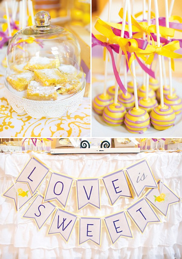 spring bridal shower dessert ideas