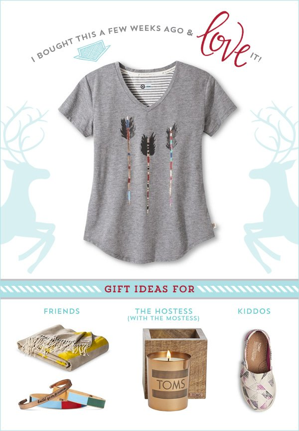 TOMS for Target Gift Ideas