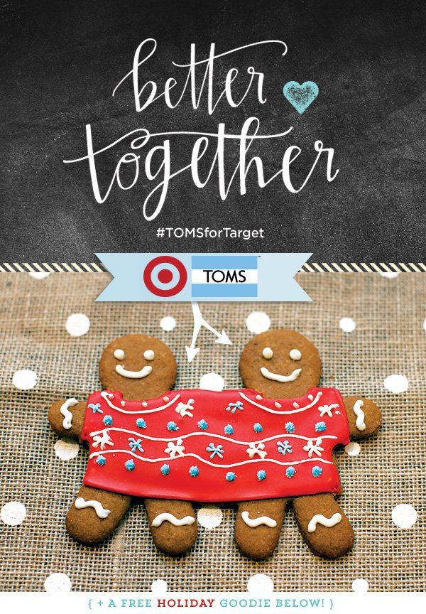 TOMS for Target Holiday 2014