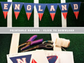 Free Printable New England Football Banner