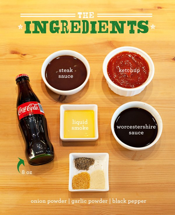 Coca-Cola BBQ Sauce Ingredients
