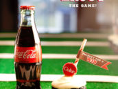 Coca-Cola Cupcakes Recipe + Game Day Toppers