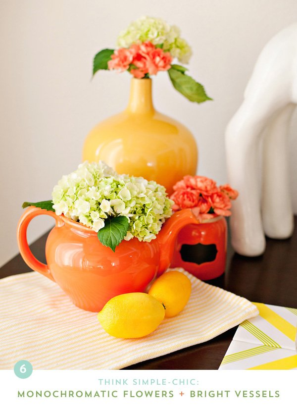 Bright Orange & Yellow Kitchen Theme