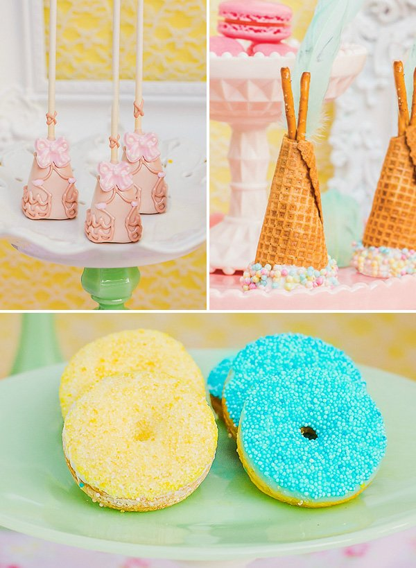 Tee-pee Inspired Desserts