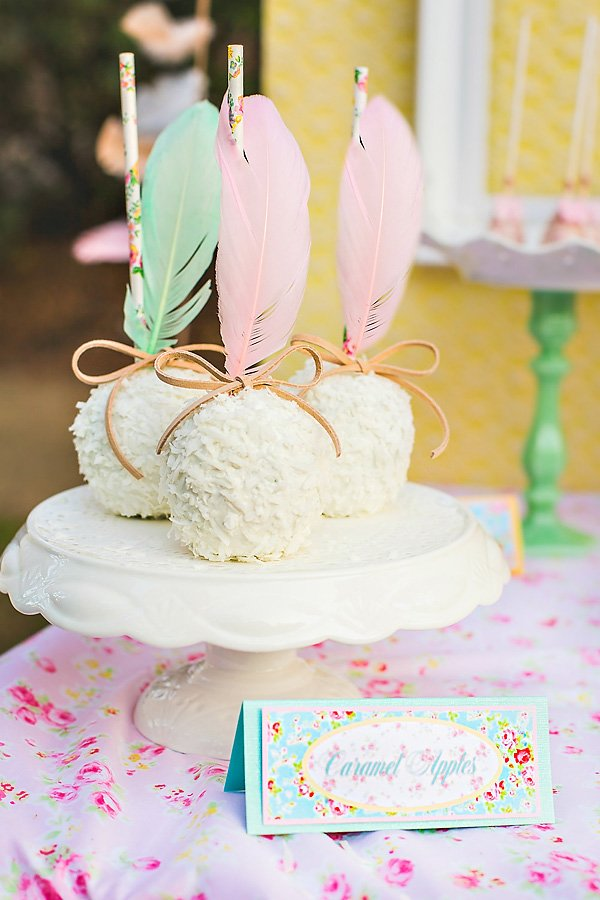 Shabby Chic Candy Apples