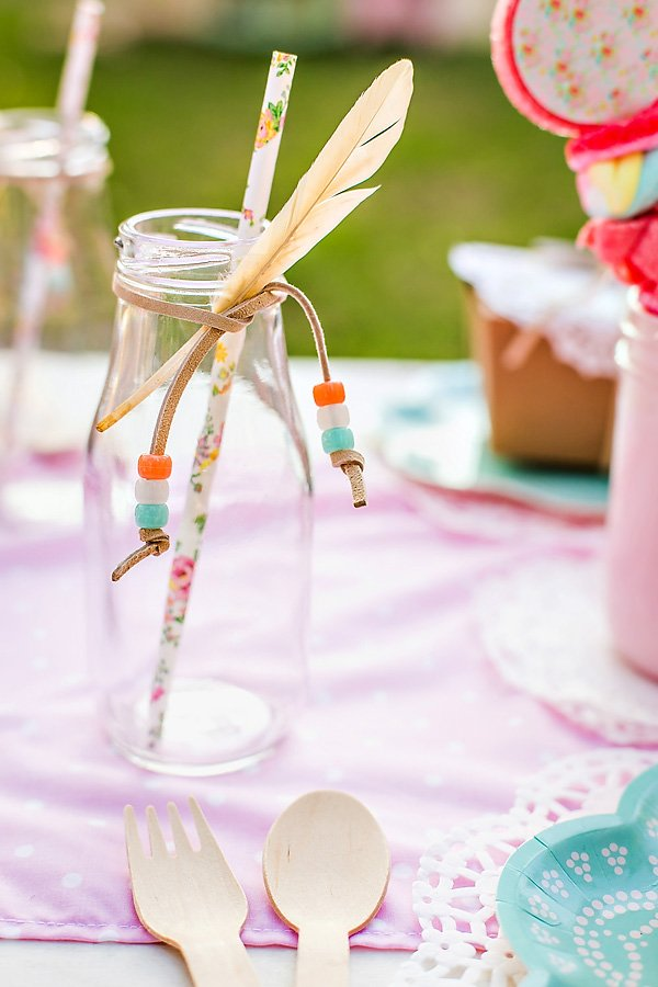 Pow-Wow Themed Party Drinks