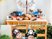 DIY Pirate Party Ship Mast