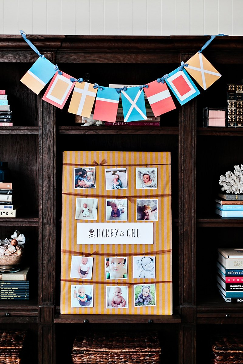 first birthday party photo sign idea
