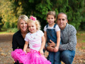Girlie Train Birthday Party - Family Photo