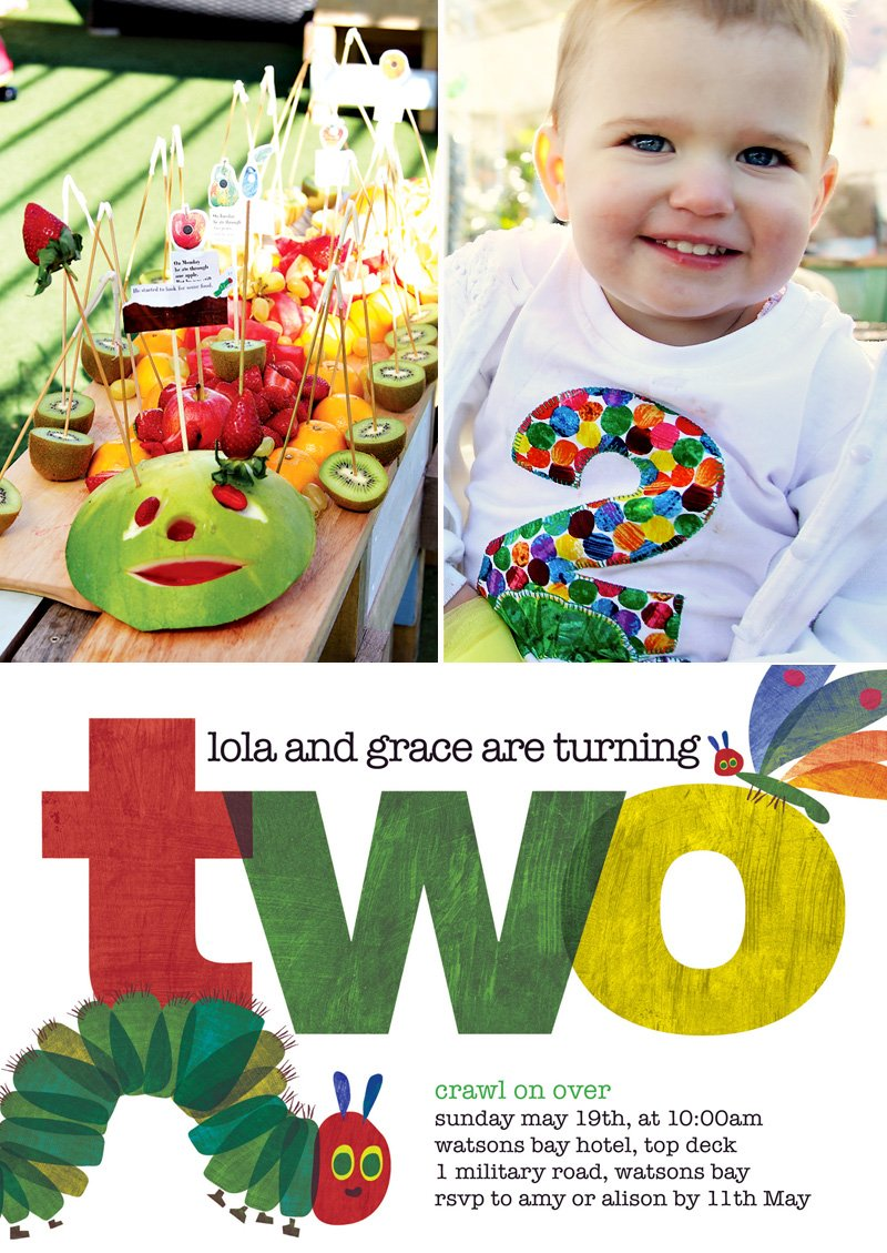 Cute & Clever} Very Hungry Caterpillar Party // Hostess with the ...