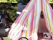 kids birthday tent
