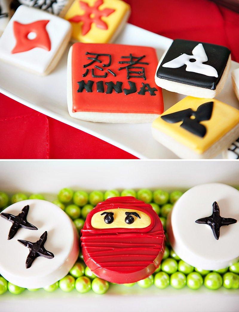 Ninja Themed Cookies