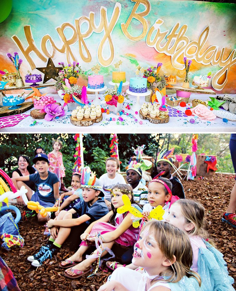 Magical Garden Kids Birthday Party