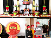 Ninjago Theme Birthday Party