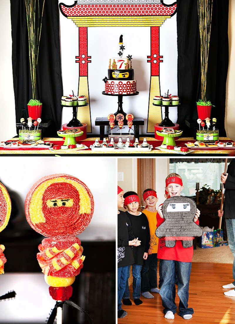 Ninjago Theme Birthday Party