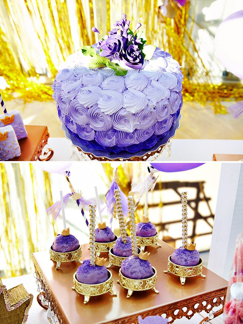 Purple Gold Magical Sofia The First Birthday Party Hostess