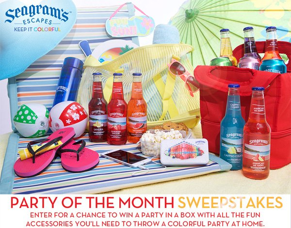 Seagram's Escapes Giveaway