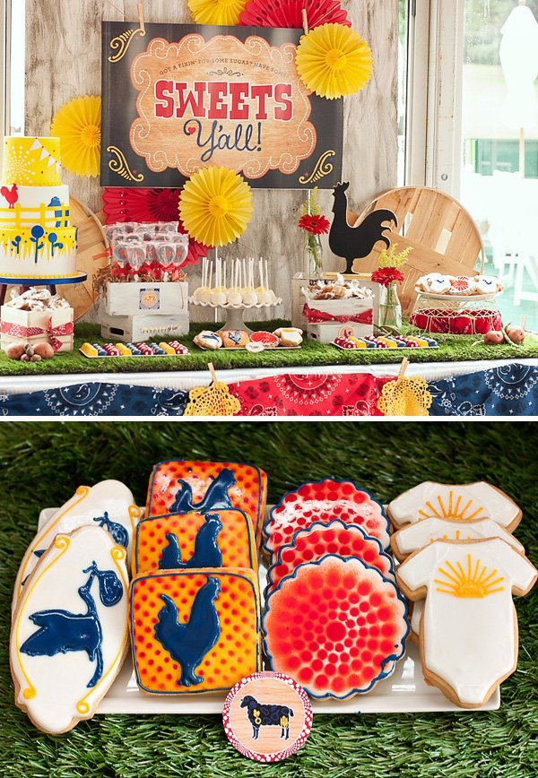 sunshine-farms-baby-shower-sweets-table