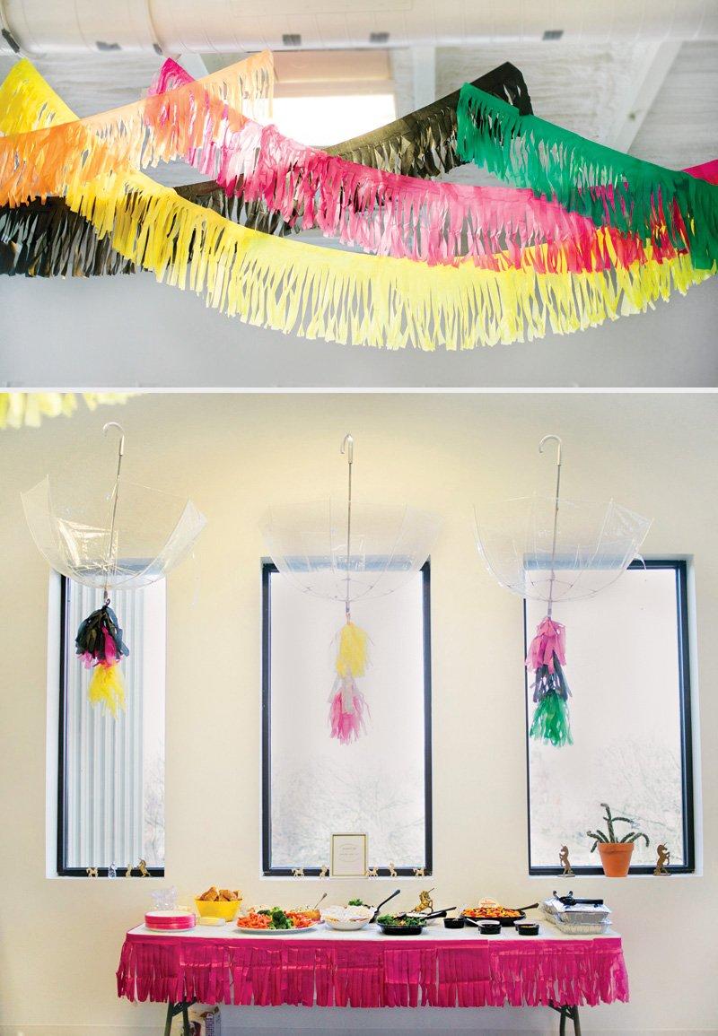 umbrella baby shower decor ideas