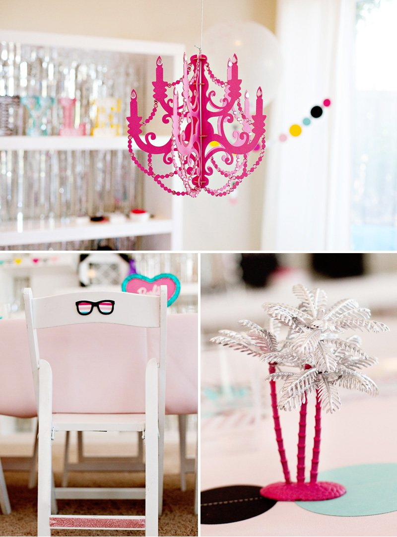 Barbie Party DIY Chandelier