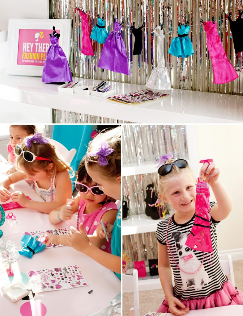 Barbie Fashion Designer Party Activity