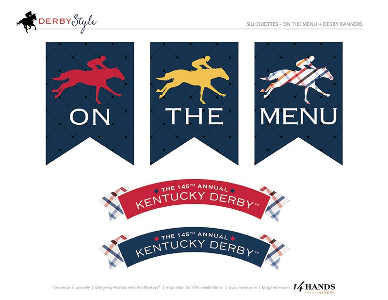 Kentucky Derby 145 Party Printables