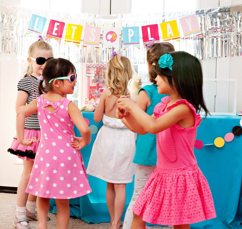 Barbie Party Banner